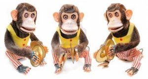 8407274-monkey-with-cymbals-isolated-on-white