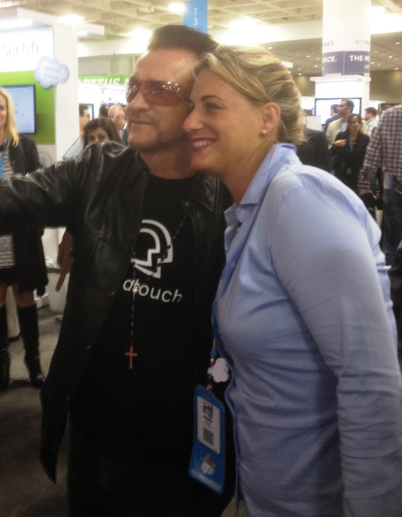 bono and some lady