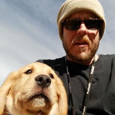 puppy and i - Dec 2014