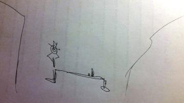 my vermeer sketch