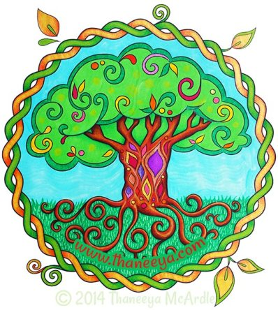 nature-mandalas-coloring-book-tree-by-thaneeya