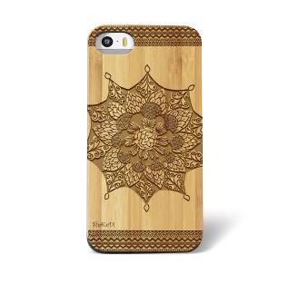 hand-drawn-tribal-aztec-mandala-doodle-zentangle-inspired-pattern-laser-engraved-on-genuine-wood-cell-phone-case-for-iphone-5s-and-6-0