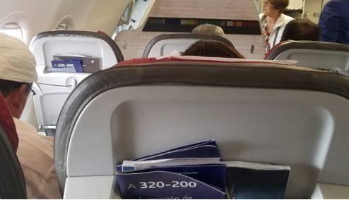 seatback plane